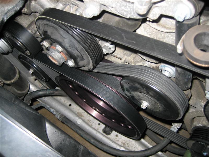 M111 Kleemann pulley on Ebay   cheap - MBWorld org Forums